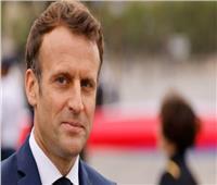 الرئيس الفرنسي يصل إلى مدينة أربيل