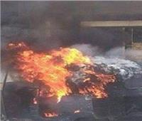 سائق «توكتوك»يُشعل النار في زميله بالمنوفية