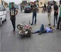 مصرع وإصابة ثلاثة أطفال في حادث انقلاب دراجة بخارية ببني سويف