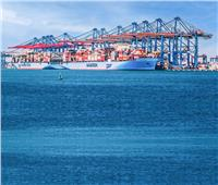 ميناء شرق بورسعيد يستقبل سفينتين عملاقتين طراز Tripple E