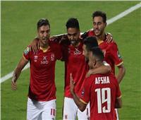 «محمد شريف» يسجل هدف تعادل الأهلي في شباك أسوان
