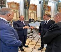 ماكرون يشيد بدور مصر في إرساء دعائم الاستقرار ومكافحة الإرهاب