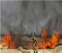 اندلاع حريقين في إسرائيل بفعل بالونات حارقة أُطلقت من غزة