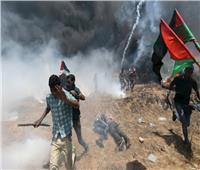 إصابات في صفوف الفلسطينيين خلال مواجهات مع الاحتلال شرق غزة