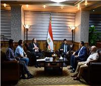 وزير الرياضة يبحث مع مجلس الترسانة الترتيبات النهائية للاحتفال بمئوية الشواكيش