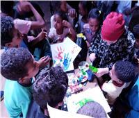 ختام فعاليات المسرح المتنقل بقرية الرغامة بـ«كوم أمبو»