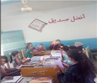 انطلاق مشروع «كتاب القرى» بقرية أبو حسين بالسويس