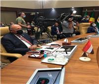 خلال اجتماع دول الجوار.. وزير الخارجية يؤكد على ثوابت مصر تجاه القضية الليبية