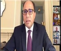 سفير مصر بكندا يستعرض الفرص الاستثمارية لمجلس الأعمال الكندي العربي