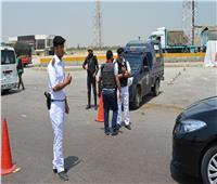 ضبط 9 مواقف عشوائية في حملات مرورية