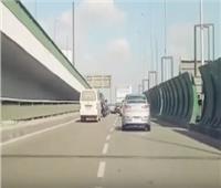 الحالة المرورية.. انتظام حركة السيارات في وسط البلد وصلاح سالم