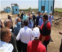 مياه أسيوط: متابعات للمشروعات الجارية لتحسين الأداء