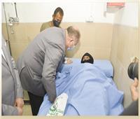 افتتاح أول غرفة لتقديم الرعاية لمرضى القدم السكري في الصعيد بالمجان
