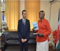 السفير المصري بجنوب السودان يلتقي وزيرة الثقافة