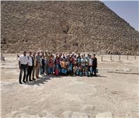 «السياحة والآثار»: رحلة توعوية لأطفال قرية تونس بالفيوم