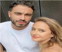 نيللي كريم في أحدث ظهور لها مع زوجها «هشام عاشور»