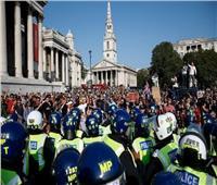 مظاهرات في بريطانيا ضد تطعيم المراهقين