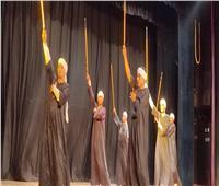 عروض التراث الشعبي علي مسرح قصر ثقافة أسيوط