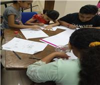 ورشة فنية للأطفال بثقافة أسيوط