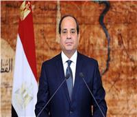 السيسي يتفقد أكبر قافلة إنسانية لرعاية مليون أسرة مصرية بالمحافظات