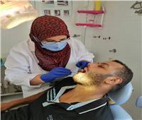 قافلة لتطعيم المواطنين بلقاح فيروس كورونا بدمياط