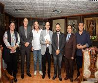 صبحي يترأس اللجنة العليا لمهرجان شرم الشيخ الدولي للمسرح الشبابي | صور