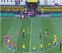 بعد إلغاء المباراة أمام الأرجنتين.. لاعبو البرازيل يؤدون حصة تدريبية