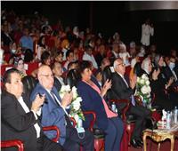 صور  وزيرة الثقافة ومحافظ بورسعيد يشهدان عرضا لفرقة رضا