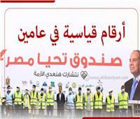 إنفوجراف | «صندوق تحيا مصر».. أرقام قياسية في عامين