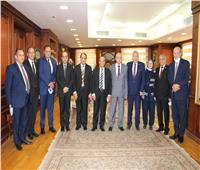 رئيس النيابة الإدارية يستقبل وفد مجلس القضاء الأعلى