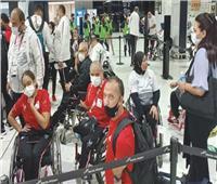بـ7 ميداليات..البعثة البارالمبية تصل مطار القاهرة