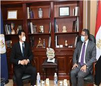 «العناني» يلتقي سفير كوريا الجنوبية لبحث زيادة الحركة السياحية الوافدة لمصر