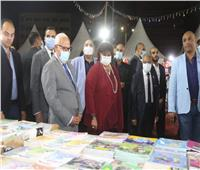 وزيرة الثقافة ومحافظ بورسعيد يفتتحان معرض الكتاب الرابع بالمدينة الباسلة