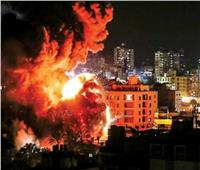 جيش الاحتلال الإسرائيلي يشن غارات جوية علي قطاع غزة