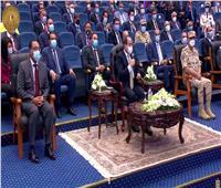 الرئيس السيسي يوجه بإزالة المباني خلف ميناء الإسكندرية لتأمينه