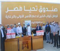 محافظ الوادي الجديد: تنفيذ قوافل «أبواب الخير» على مستوى 47 قرية