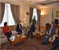 أبو الغيط يستقبل المفوض العام للأونروا لبحث الصعوبات المالية والسياسية