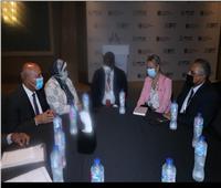 وزير النقل يبحث مع نائب رئيس بنك التنمية الأفريقي التعاون المشترك