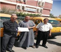 توزيع دفعة جديدة من سيارات الميني فان علي شباب مركز بئر العبد