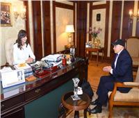 وزيرة الهجرة تبحث مع رئيس اتحاد الكيانات المصرية بأوروبا سبل التعاون
