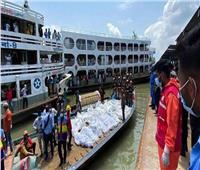 إنقاذ 82 شخصًا إثر حادث تصادم عبارتين في الهند