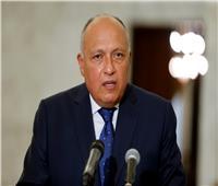 شكري: مستمرون في مساندة ليبيا.. والانتخابات يجب أن تقام بموعدها