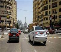 سيولة مرورية وانتظام حركة السيارات بالقاهرة والجيزة