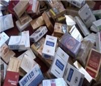 ضبط مخزن لتجارةالسجائر بدون ترخيص بالقليوبية