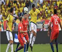 كولومبيا تتفوق على تشيلي 3-1 في تصفيات كاس العالم