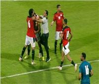 إستبعاد مهاجم منتخب مصر بعد واقعة «البصق»