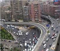الحالة المرورية  انتظام حركة السيارات بالقاهرة والجيزة في الطرق الرئيسية