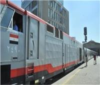 حركة القطارات   70 دقيقة متوسط التأخيرات بين «بنها وبورسعيد»