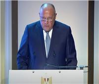 سامح شكري: الاستراتيجية تهدف لتحقيق تقدم في الاطر المجتمعية كافة بالتوازي مع التنمية