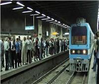عودة حركة مترو الأنفاق بالخط الأول بعد إصلاح الشبكة الكهربائية